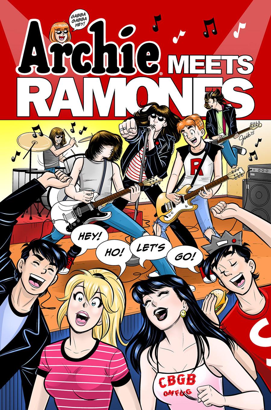 Archie meets Ramones - SDCC